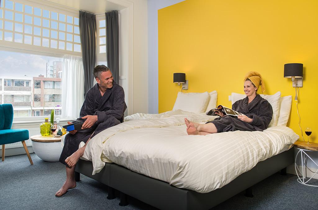 Schlafzimmer Villahotel Vlissingen